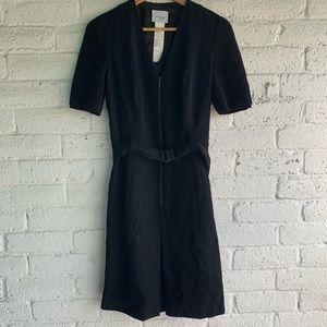 AKRIS Punto   Knit Belted Dress